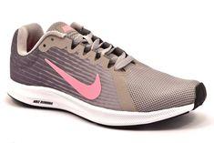f2b12d84d5 NIKE 908994 004 GRIGIO ROSA DOWNSHIFTER 8 Scarpe Ginnastica Sneaker Sport  Donna