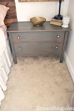 DIY Nightstands. love love this one...