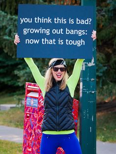 Best Race Signs | A collection of the signs that inspire us when we run races.