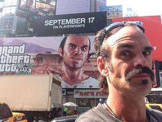 "An Interview With Steven Ogg, The Voice Of ""GTA V's"" Trevor. He seems really nice. The Walking Dead, Memes Humor, Funny Memes, Trevor Philips, Troll, Grand Theft Auto 5, Video Humour, Gta 5 Online, Video Game Memes"