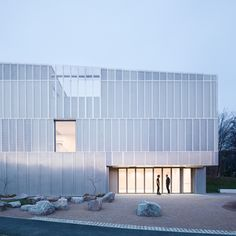 Metal-clad enterprise building / Architecture 00