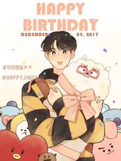 171204 Happy Jin Day•#WorldwideHandsomeDay  @noopy_88