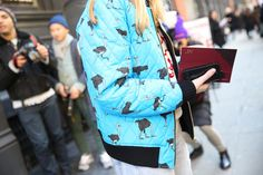 Street looks at New York Fashion Week Day 1 Jourdan Dunn, Malaika Firth, Susie Bubble, FW2014