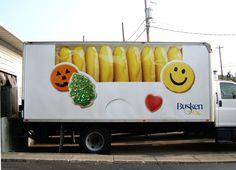 Busken Truck Wrap