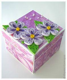 Открытка Квиллинг: Magic box для мамули♥ Бумага День рождения. Фото 1