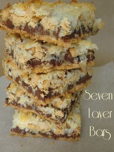 17 Way-Worth-It Layered Holiday Cookies: Seven layer bars