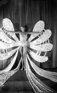 "Josephine Baker - She was best known for her exotic banana dance in a Parisian nightclub in the 1930's.  She was also known for her ""rainbow tribe"" - she adopted a child of every race - well before Angelina Jolie...."