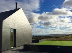 Sited in the shadow of Scrabo Tower, Newtownards. This house enjoys stunning views over arable farmland towards Strangford Lough and the Ards Peninsula beyond. Architecture Student, Concept Architecture, Modern Architecture, Architectural Section, House Roof, Types Of Houses, Stunning View, Detached House, Cladding