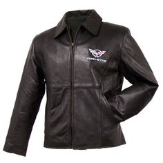 Womens C5 Corvette Lambskin Jacket