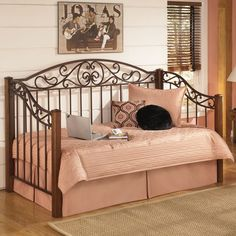 traditional and triumphant the wyatt day bed by ashley furniture will add a dose of