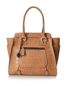 London Fog Women's Knightsbridge Tote, Fawn