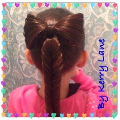 Bow / Fishtail Braid❤️