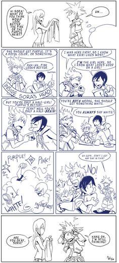 lol, poor Sora!