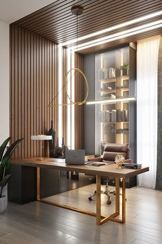 Apartment_design/viz – Dezign Ark (Beta) – Modern Corporate Office Design Office Table Design, Industrial Office Design, Corporate Office Design, Modern Office Design, Office Interior Design, Office Interiors, Industrial Table, Art Interiors, Modern Office Table