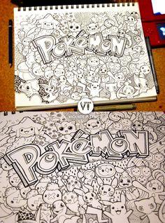 Doodle: Pokemon!!! by vicenteteng.deviantart.com on @deviantART