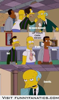 Hop aboard the Simpsons bandwagon! My favourite quote