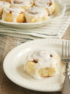 It has never been so easy to make homemade cinnamon rolls than with these Biscuit Cinnamon Rolls! You can have these mixed and in the oven in record time! - Bake or Break ~ http://www.bakeorbreak.com