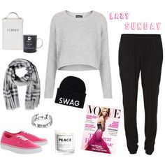 """""""Lazy day"""" by miasaramaria on Polyvore"""