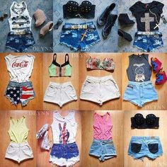 More cute summer outfits ☀💕 Cute Summer Outfits, Stylish Outfits, Cute Outfits, Summer Dresses, Summer Clothes, Next Fashion, Fashion Couple, Fashion Beauty, Mode Swag