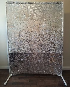 "sequin ""photo booth"" backdrop"