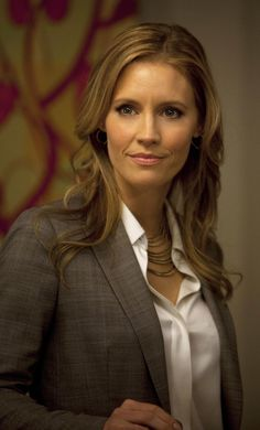 Chapter 7 ~ Kadee Strickland as Dr. Greene when she enters the great room and sees Christian and Ana.