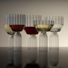 Margot Glassware Collection Designed by Felicia Ferrone - Available in the Dwell Store.