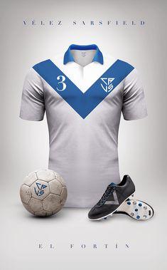 uniformes clubs futbol vintage velez