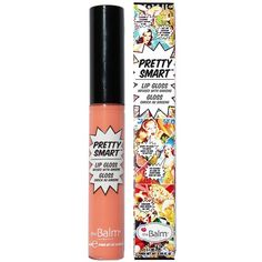 The Balm Pop! Pretty Smart Lipgloss ($23) ❤ liked on Polyvore featuring beauty products, makeup, lip makeup, lip gloss, beauty, lips, lipstick, filler, nude and womens-fashion