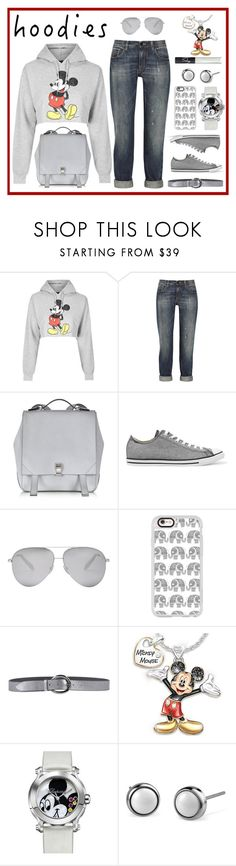 """""""Cute Hoodies"""" by jackie22 ❤ liked on Polyvore featuring Topshop, dVb Victoria Beckham, Proenza Schouler, Converse, Victoria Beckham, Casetify, Orciani, The Bradford Exchange, Chopard and NARS Cosmetics"""