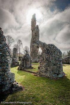Thetford Priory, Norfolk England #travel #travelphotograp