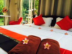 Phuket Ban Mayuree Phuket Thailand, Asia Located in Mai Khao, Ban Mayuree Phuket is a perfect starting point from which to explore Phuket. The hotel offers guests a range of services and amenities designed to provide comfort and convenience. To be found at the hotel are daily housekeeping, taxi service, Wi-Fi in public areas, car park, airport transfer. Some of the well-appointed guestrooms feature closet, clothes rack, sofa, mirror, air conditioning. To enhance guests' stay, ...