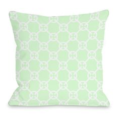 Found it at AllModern - Cecile Circles Throw Pillow