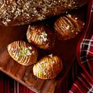 Try the Hasselback Potatoes Recipe on williams-sonoma.com/