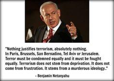 Netanyahu is right! I LOVE ISRAEL!