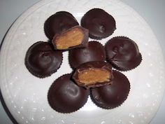 Sunbutter Cups, Egg free, Dairy Free, Nut free - my hubby would be thrilled!