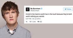 14 Bo Burnham Tweets to Tickle Your Tum Tum