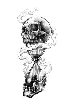Skull Rose Tattoos, Skull Hand Tattoo, Hand Tattoos, Sleeve Tattoos, Skull Tattoo Design, Tattoo Design Drawings, Tattoo Sketches, Tattoo Designs, Dark Art Tattoo