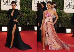 Eva Longoria y Halle Berry protagonizaron los posados más sexys de la alfombra roja en los Globos de Oro 2013 y dejaron a más de uno sin palabras derrochando sensualidad con sus espectaculares diseños #actrices #actress #people #celebrities #famosas #goldenglobes