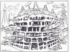 Visió satírica del futur de la Pedrera a L'Esquella de la Torratxa (4 de gener de 1912)