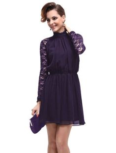 HE03507PP08, Purple, 6US, Ever Pretty Vintage Long Lace Sleeves Ruffles Chiffon Cocktail Dress 03507 Ever-Pretty,http://www.amazon.com/dp/B00D3DUYEI/ref=cm_sw_r_pi_dp_y8Ylsb1RYQ302GNV