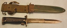 US M5-1 bayonet JD Tool Co with M8A1 scabbard