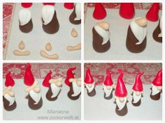 Best 12 Handlar om mig o mina tankar om livet – SkillOfKing. Homemade Xmas Decorations, Christmas Cake Decorations, Christmas Crafts, Diy Fimo, Diy Clay, Polymer Clay Projects, Clay Crafts, Christmas Cake Topper, Gnome Ornaments