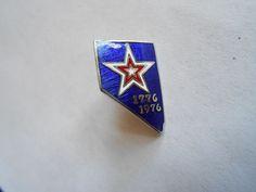 Vintage USA Bicentennial 1776-1976 Nevada Enamel Lapel Pin  | eBay
