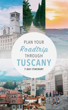 Itinerary inspiration for your next seven day visit to Italy: the best scenic drives, hillside cities, fantastic local cuisine, and rolling hills to die for. Yep, they've got everything. #ItalyTravel