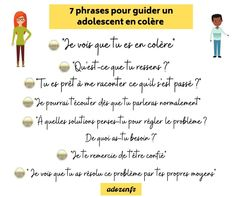 7 phrases pour guider un adolescent en colère Chakra, Positivity, Rainbow, This Or That Questions, Education, Gifts, Envy, Anger Management, Being Angry
