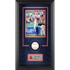 Mookie Betts Boston Red Sox Fanatics Authentic Framed Autographed Baseball Shadowbox