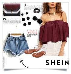 """""""SheIn 7/I"""" by amina-haskic ❤ liked on Polyvore featuring WithChic and shein"""