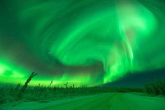 Northern Lights - Aurora Borealis The Abduction