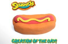 Skwooshi Creation of the Day #playwithyourfood #foodart #mold #sculpture #sculpt #play #toys #food #skwooshi #hotdog  Join the fun on Facebook for exclusive giveaways https://www.facebook.com/Skwooshi