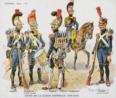 GENIE DE LA GARDE IMPERIALE (1810-15)